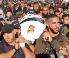 תיעוד מהרצועה: הלווית בהאא' אבו-אלעטא