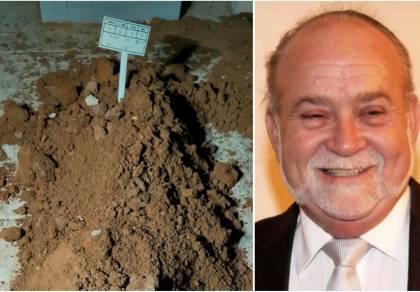 'מכניסי רחמים' על קברו של הנפטר מקורונה