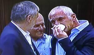 ילין בנאומו - חבר הכנסת פרץ בבכי על דוכן המליאה. צפו