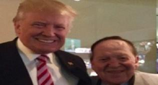 אדלסון וטראמפ בימים יפים יותר - דיווח: אדלסון הביע אכזבה מהנשיא טראמפ