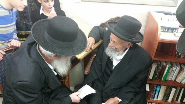 אחרי הכהונה: זייברט בסבב אצל גדולי ישראל