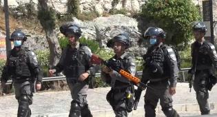 כך נערכה המשטרה ל'מצעד הדגלים'; צפו