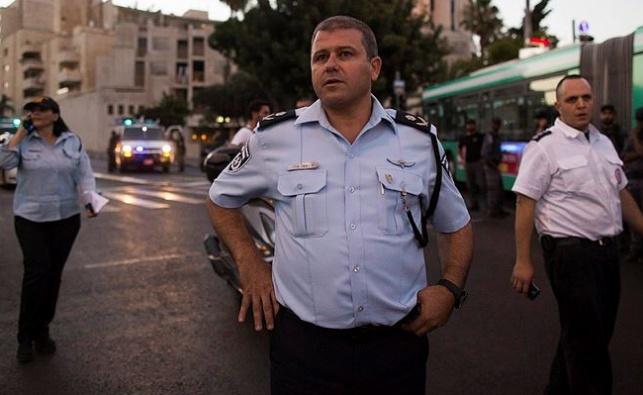 מפקד מחוז ירושלים ניצב משה צ'יקו אדרי, הערב בזירת האירוע
