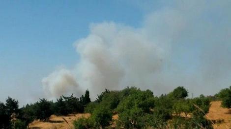 זליגת ירי מסוריה לרמת הגולן - בוצע ירי לעבר כלי טיס ישראלי בגבול הגולן