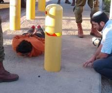 פלסטינית חשודה. אילוסטרציה - מחבלת ניסתה לבצע פיגוע דקירה ליד חברון