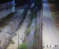 רימון הלם הושלך על חומות כלא איילון. צפו
