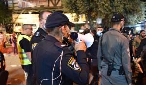 המשטרה מציגה: כך פונה הר מירון; תיעוד
