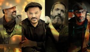 ארבעת הזמרים התכנסו לביצוע משותף: אין איש שאין לו נר
