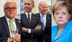 קצלרית גרמניה מרקל, נשיא גרמניה, אובמה וביידן