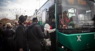 אילוסטרציה - האוטובוסים של אגד - המזהמים ביותר בארץ