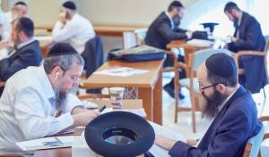 עשרות רבני רוסיה התאספו ללימוד משותף