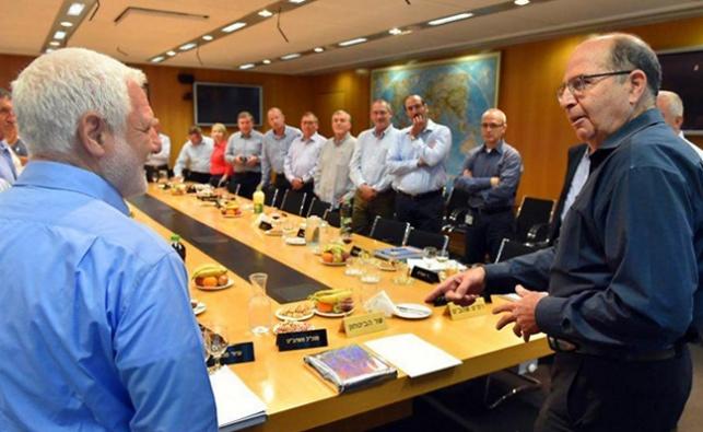 'תישארו בני אדם': יעלון נפרד ממשרד הביטחון