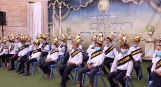 כיתה א' שרים לאבא במסיבה המרגשת