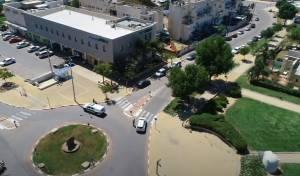 מבט מהרחפן: רגעי הצפירה בעיר נתיבות
