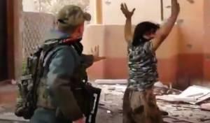 """לוחם דאע""""ש. ארכיון"""