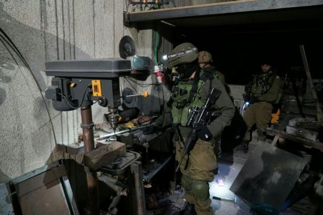 """צה""""ל תפס מחרטה לייצור נשק • צפו בפעילות"""