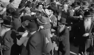 """החב""""דניקים בריקוד שמחה בדרך לרבי • צפו"""