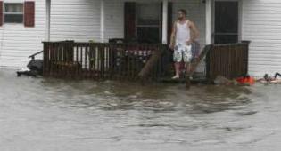 נזקי הסופה (צילום: גולש כיכר השבת)