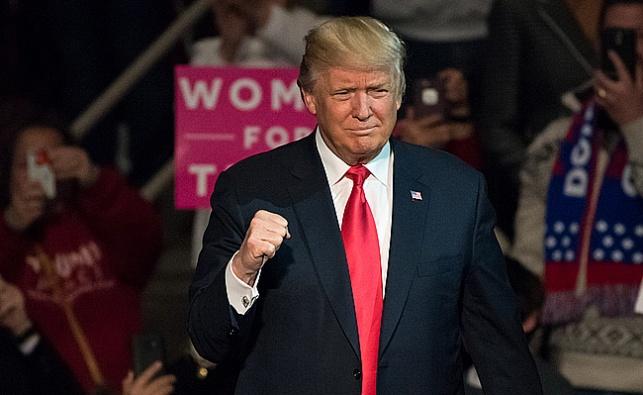 הנשיא הנבחר דונלד טראמפ
