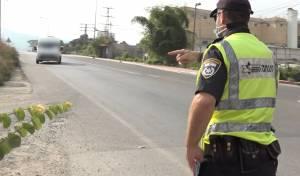 השוטרים הורידו מהכביש 11 רכבי הסעות