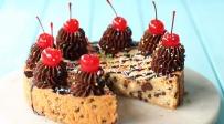 עוגה שהיא עוגיית שוקולד צ'יפס ענקית - עוגת יום הולדת שהיא בעצם עוגיית שוקולד צ'יפס ענקית