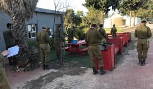 תיעוד: גם החיילים התפללו נגד הקורונה