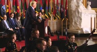 """דונלד טראמפ: """"זו שבועתי - תמיד אעמוד לצד העם היהודי"""""""