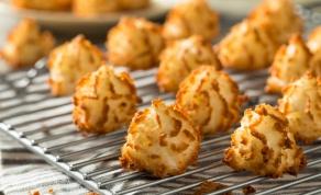 קלות ומהירות: עוגיות מקרון קוקוס איטלקיות