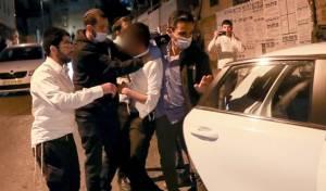 המהומה, ומעצר חשוד בהפרעה לשוטרים