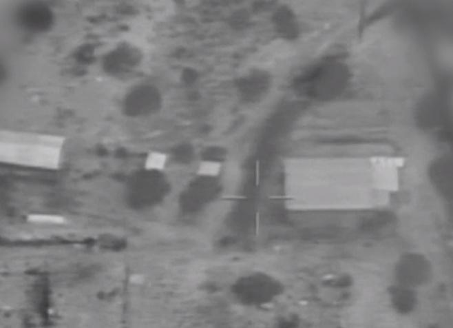 """וידאו: צה""""ל  תוקף יעדי טרור ברצועת עזה"""