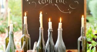 מי צריך פמוטים כשיש בקבוקי יין?