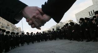 שמחה בגור. ארכיון - בשל חתונת גור: רחובות בירושלים ייחסמו