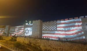 """ירושלים חוגגת יום הולדת לשגרירות ארה""""ב"""