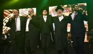 המוזיקה היהודית חגגה 50 שנות יצירה לר' חיים בנט
