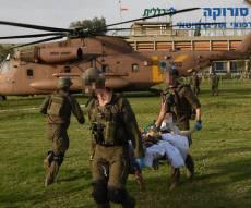 """פינוי החיילים שנפצעו בתקרית הדגל - """"האירוע לא הסתיים; המחבלים לא חוסלו"""""""