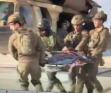"""החיילים ה""""פצועים"""" שפינה צה""""ל."""
