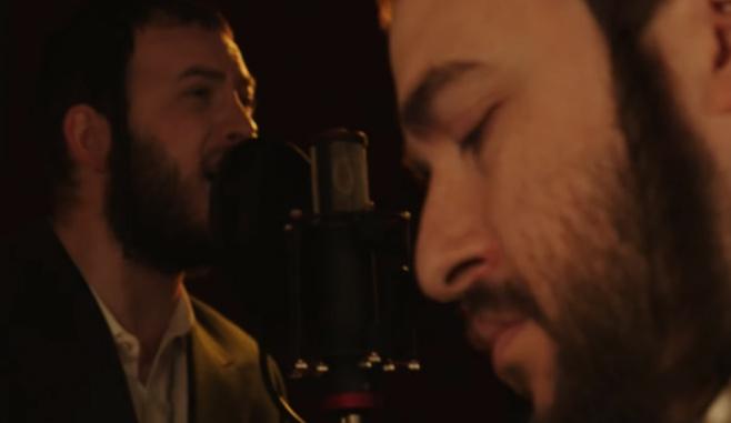 מוטי אילוביץ ומנדי הרשקוביץ מבצעים באידיש: שבורי לב