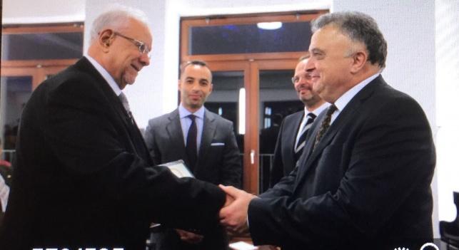הענקת האות בידי שגריר ישראל בגרמניה