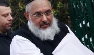 אהרן רמתי לאחר מעצרו, השבוע