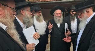 """האזינו: השיחה שמסר הרב רימר בכפר חב""""ד"""