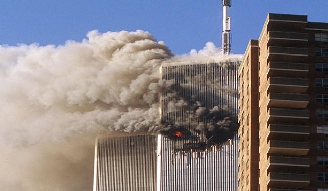 """הפגיעה במרכז הסחר בארה""""ב ב-11.09.2001"""
