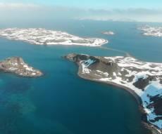 האי המלך ג'ורג' אליו המטוס היה אמור להגיע