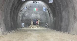 הושלמה כריית מנהרות 'הר נוף' במסגרת פרויקט כביש 16