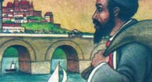 מתוך סדרת סיפורי צדיקים, מציוריו של הכטקופף - חזר לחורבות גטו וורשה כדי לצייר את עולמו שחרב