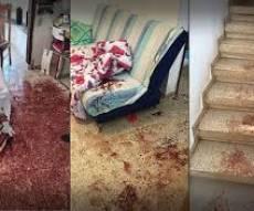 זירת הפיגוע בחלמיש - האישום: שמע צחוק של ילדים ונכנס לרצוח