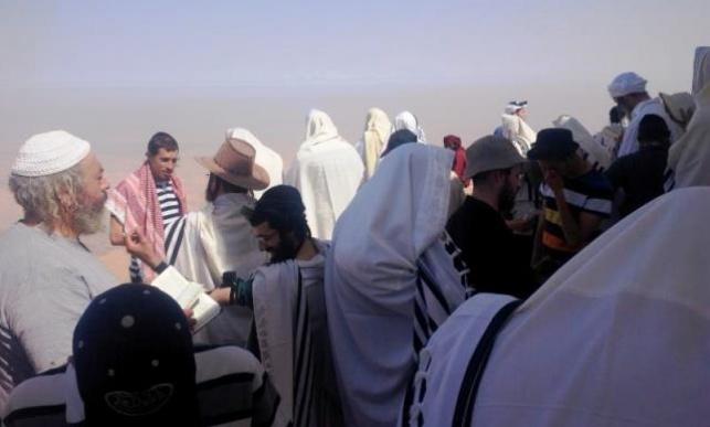 המתפללים הישראלים בירדן