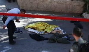 תיעוד מסכם: זירת פיגוע הירי ליד הר הבית
