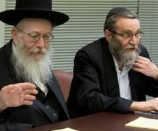 """גפני וליצמן - החרדים: """"החלטנו להגיש את  חוק השבת"""""""