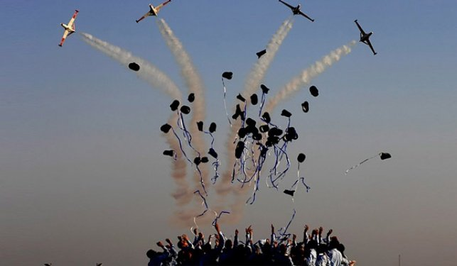 סיום קורס טיס