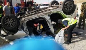 אסון בערב חג: חרדי נהרג בהתנגשות עם רכב פלסטיני